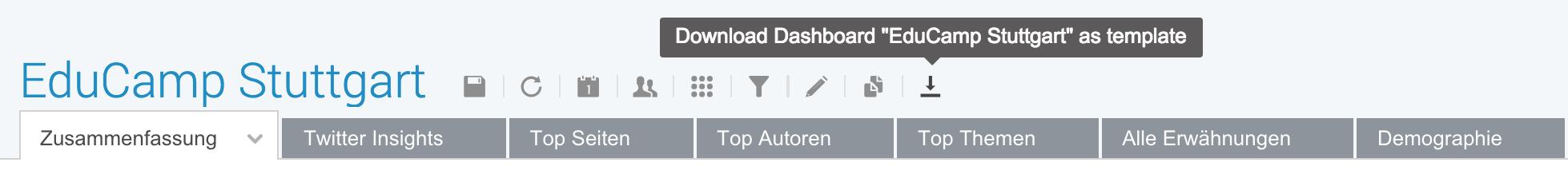 Lieblings-Feature: Dashboard Templates | Brandwatch
