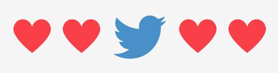 Twitter Herz Banner