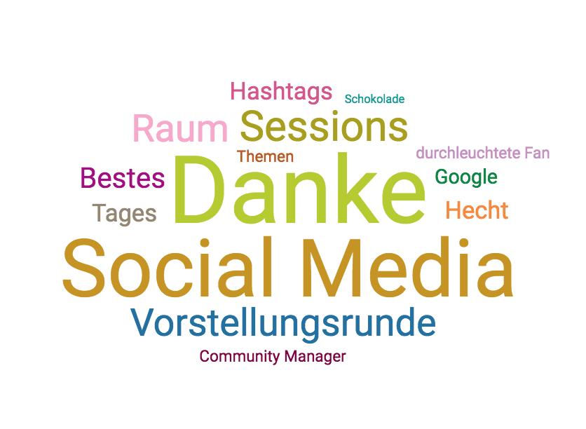 CommunityCamp Berlin 2017 Top-Themen Samstag